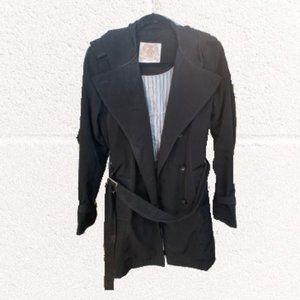 Black Espirit Trench Coat